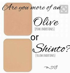 What's your undertone?