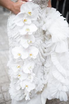 Trailing Orchid Bouquet | Brides.com