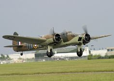 Bristol Blenheim aircraft.