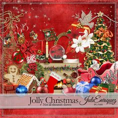 Jolly Christmas (PU/S4H) by JuliEnriquez Designs  : Digidesignresort