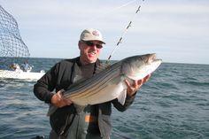 Great shot of IBEW Local 3 Vice President Joe Proscia on Montauk Bay.