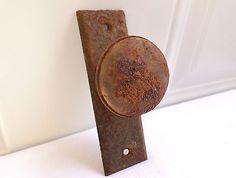 Antique Vintage Metal Small Door Knob Handle Hardware Rustic Primitive  Small!