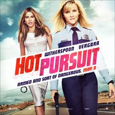 Running for your life never looked so good. #HotPursuit