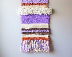 Chevron Wall Hanging Bohemian Tapestry Gypsy by LemonCucullu