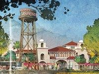 Downtown Disney is beinfg re-developed into Disney Springs.