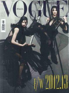 Gucci Cover - Vogue ITA, July 2012: www.gucci.com