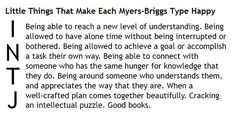 Little Things That Make Each Myers-Briggs Type Happy - INTJ