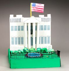 Create a replica of the U.S. White House! Learn about the building's history, architecture, and its famous occupant's role in U.S. government.