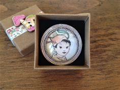 Peter Pan, Mabel Lucie Attwell Brooch made using vintage book illustration Book Illustration, Peter Pan, Etsy Seller, Brooch, Trending Outfits, Unique Jewelry, Handmade Gifts, Vintage, Decor