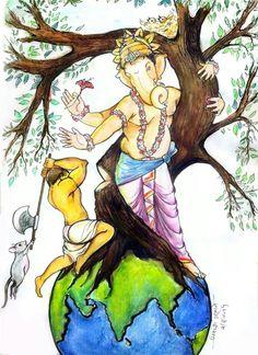 Ganesha Sketch, Shiva Sketch, Ganesha Drawing, Lord Ganesha Paintings, Ganesha Art, Krishna Art, Shri Ganesh Images, Ganesha Pictures, Happy Ganesh Chaturthi Images