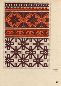 Knitting Books, Knitting Charts, Knitting Stitches, Knitting Designs, Knitting Patterns, Mittens Pattern, Knit Mittens, Tapestry Crochet Patterns, Sampler Quilts