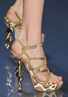 Unique Heel styles......... Really Funky! PART_II : Fashion, Beauty