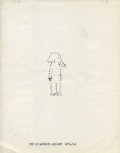 Michael Crowe and Lenka Clayton: Typewriter Drawings