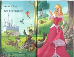 Disney Princess Photo: Princesses and Puppies Princess Photo, Disney Princess, Princesse Aurora, Princess Puppies, Evil Witch, Disney Sleeping Beauty, Handsome Prince, Maleficent, New Friends