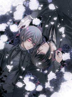 Ciel and Sebastian - kuroshitsuji Photo