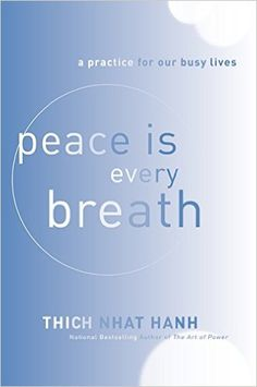 Peace Is Every Breath: A Practice for Our Busy Lives: Thich Nhat Hanh: 9780062005823: Books - Amazon.ca