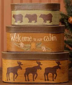 Welcome to our Cabin Boxes.     $17.95
