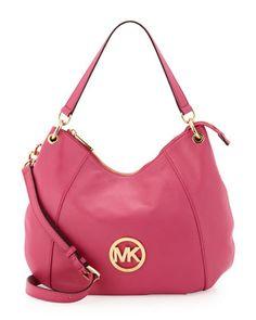 Fulton Convertible Hobo Bag, Zinnia by Michael Kors at Neiman Marcus Last Call.
