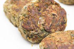 Hovkonditorn: Vegan Lentil-Mushroom Burgers