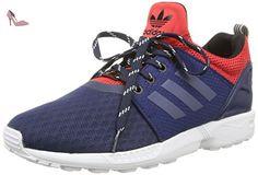 adidas ZX Flux I, Chaussures - Prime enfance (1-10 Mois) Fille - Rose - Rosa (Flared/Cblack/Ftwwht), 23 EU