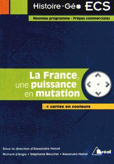 La France, une puissance en mutation - Alexandra Monot,Richard d' Angio,Stéphanie Beucher http://cataloguescd.univ-poitiers.fr/masc/Integration/EXPLOITATION/statique/recherchesimple.asp?id=171405943