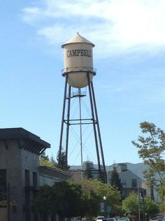 Campbell Water Tower, Campbell, CA