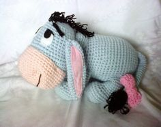 Eeyore Amigurumi crochet pattern $5.50 @Donesia Margolis Dofat Margolis - I would be happy to purchase the pattern :-)