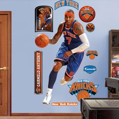 SPike's room Carmelo Anthony