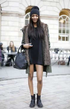 Jourdan Dunn is quickly becoming my favourite model. Bigging it up for the UK girls!