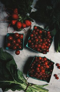 Red fruits / photo by Yossy Arefi