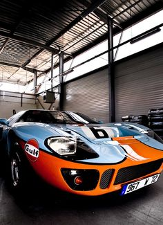 Define Auto Perfection: Ford GT40 Gulf Livery