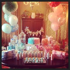 My Gender Reveal party