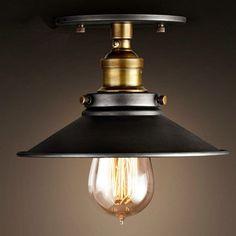 Loft Deckenleuchte LED Deckenlampe Industrie Edison Steam Punk Lampe Chester