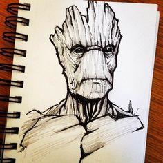 Avengers Drawings, Avengers Art, Marvel Art, Marvel Images, Pencil Art Drawings, Cool Art Drawings, Art Drawings Sketches, Anime Art Fantasy, Character Drawing