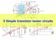 64 best meters \u0026 detectors images in 2019 circuit, electronicsthis is the transistor tester circuit into pcb when your project do not works,