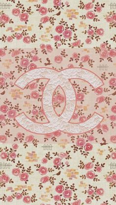 Coco Chanel Flowers Pattern Logo  #iPhone #5s #wallpaper