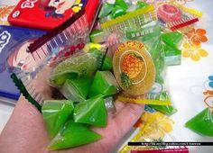 誰知道那綠色的糖果叫甚麼??想了十多年還是不知道