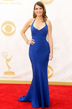 Tina Fey has never been hotter in Narcisco Rodriguez #Emmys