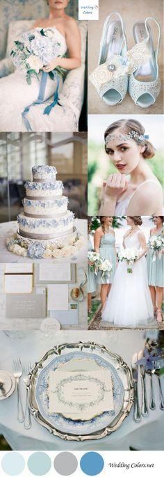 Light Blue wedding theme