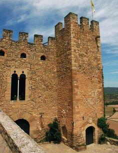 Castillo de Montsonís, Lérida (lleida), Cataluña, España