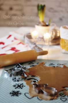 Gingerbread baking with Orthex cookie cutters