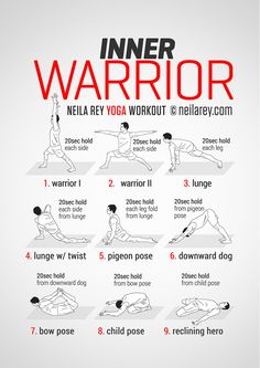 Inner Warrior Workout - Tuesday / Thursday workout