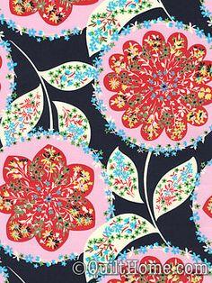 Lark PWAB071-Midnight Fabric by Amy Butler