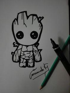 My #babygroot #marvel #guardiansofthegalaxy #groot #infinitywar
