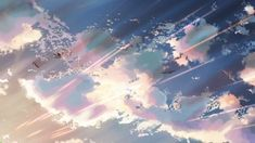 gif gifs birds sky Hoshi wo Ou Kodomo sun clouds scenery sunset sunrise weather imadethis anime scenery sceneries anime sceneries children who chase lost voices nice weather animu sceneries animu scenery children who chase lost voices deep below Aesthetic Gif, Aesthetic Videos, Anime Gifs, Anime Art, Main Manga, Fly Gif, Lost Voice, Casa Anime, Funny Pictures