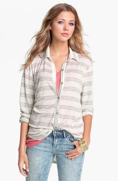 Love on a Hanger Knit Shirt (Juniors) available at Nordstrom