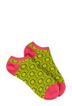 Kiwi Splash Ankle Socks