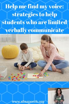 An engaging webinar describing evidenced based strategies to help students with autism increase their communication skills. Join me on this journey in helping students find their voice.