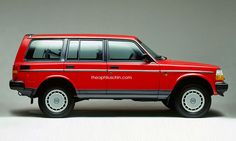 Theophilus ponders, what if Volvo had made a SUV back in the 80's.