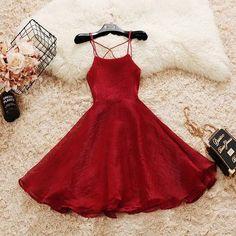 Cute Voile Dress - - Cute Voile Dress – HipStore: Cute Dresses, Tops, Jewelry & Shoes for Women Elegant Ball Gowns, Elegant Dresses, Pretty Dresses, Beautiful Dresses, Casual Dresses, Cute Formal Dresses, Awesome Dresses, Elegant Gown, Short Red Formal Dress